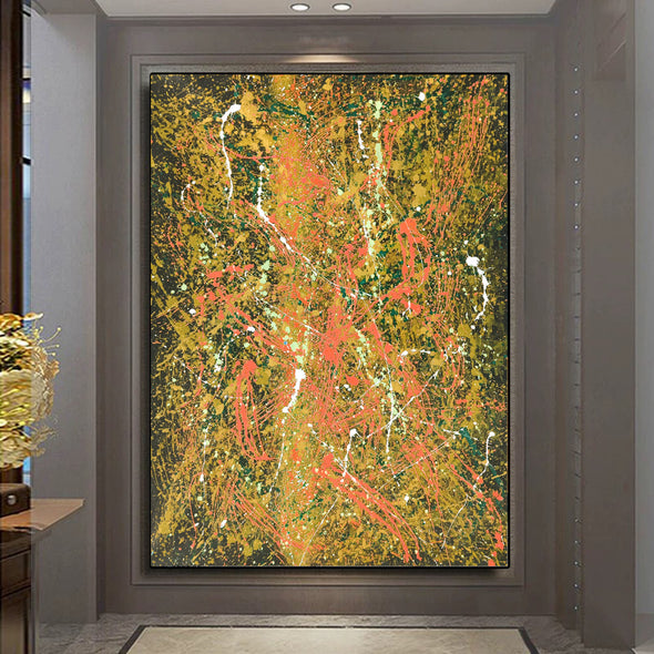 Abstract oil paintings | Abstract modern art paintings LA106_9
