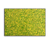 abstract original | yellow and green abstract painting | green abstract art L745-8