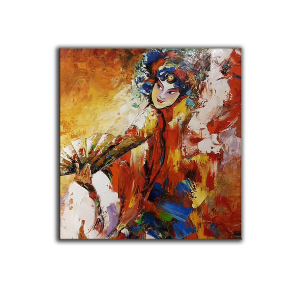 Impressionist art | Art work | Paint art L757-5
