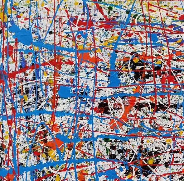 Abstract painting information | Abstract art painting for beginners LA280_10