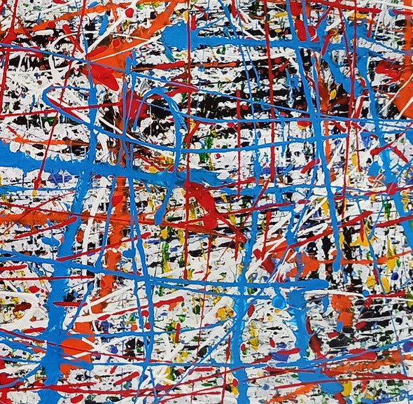 Abstract painting information | Abstract art painting for beginners LA280_9