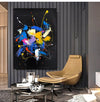 Abstract acrylic painting on canvas | Abstract portrait artists LA128_2