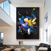 Abstract acrylic painting on canvas | Abstract portrait artists LA128_3