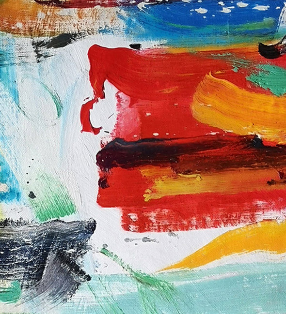 Easy abstract oil paintings | Most abstract art L659-3