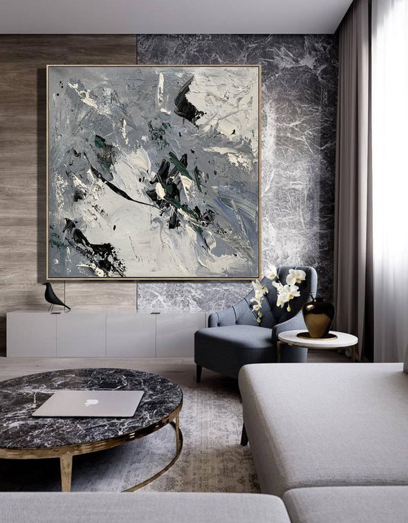 Acrylic canvas abstract | Contemporary art paintings abstract LA621_3
