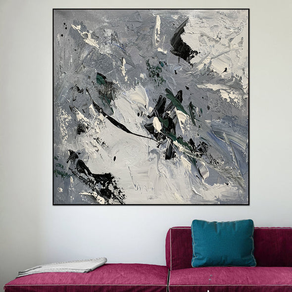 Acrylic canvas abstract | Contemporary art paintings abstract LA621_8