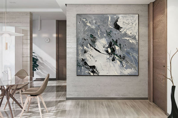Acrylic canvas abstract | Contemporary art paintings abstract LA621_10