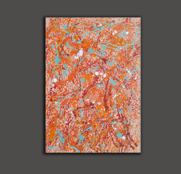 splatter painting abstract | splatter painting dripping L882-4