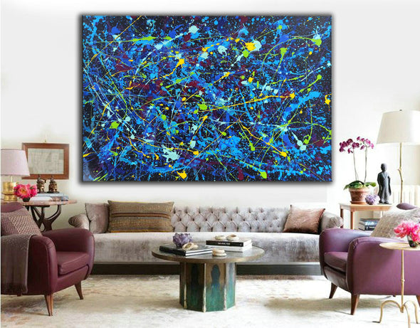 An abstract painting | Modern paintings gallery LA243_2