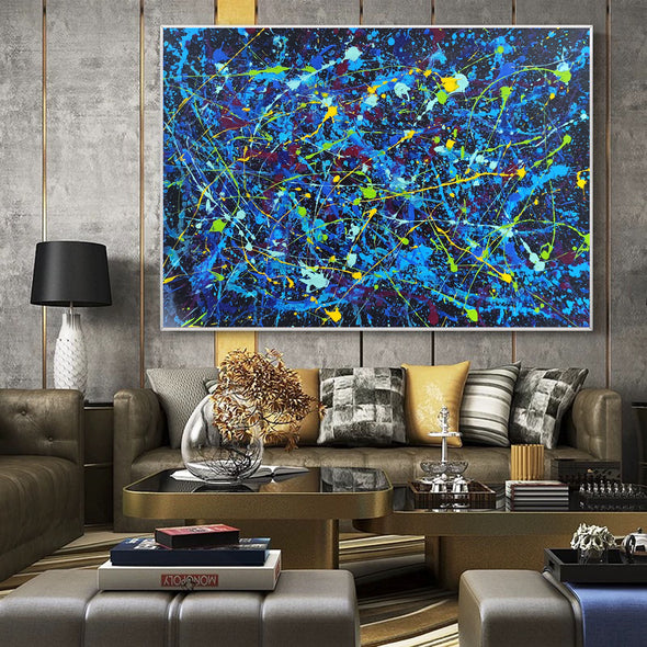 An abstract painting | Modern paintings gallery LA243_1