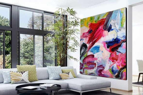 Abstract paintings with acrylic | Abstract picture art-6