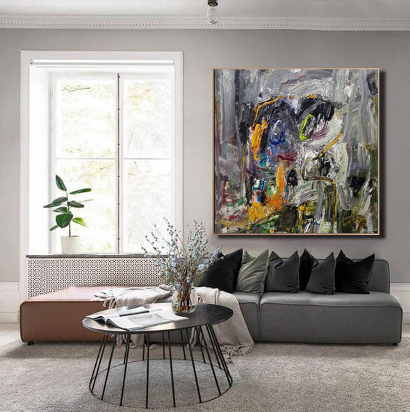 Art abstract paintings | An abstract painting LA81_2
