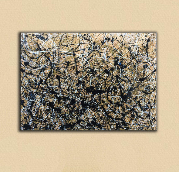 Paint like pollock | Pollock jackson paintings L898-3
