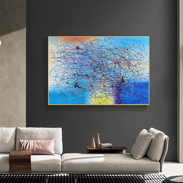 Art modern abstract | Painting abstract art for beginners LA269_1