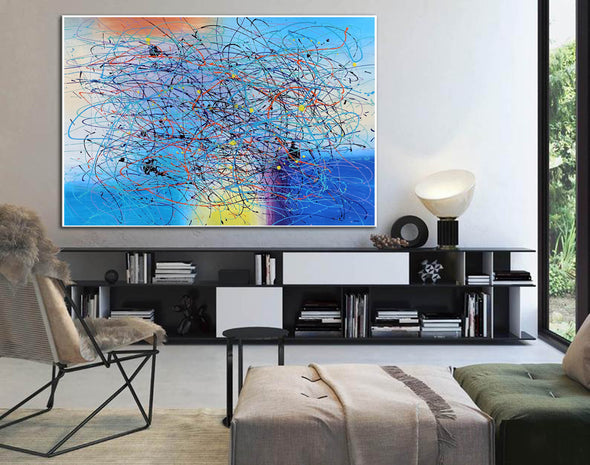 Art modern abstract | Painting abstract art for beginners LA269_7