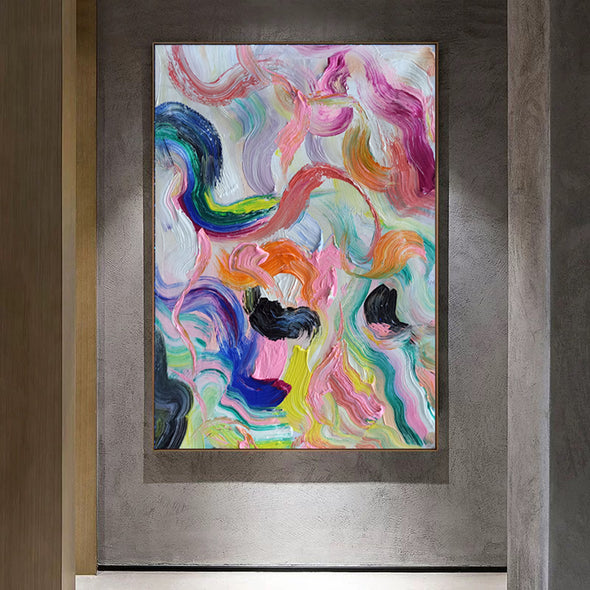 Abstract art colorful | Art of painting LA73_10