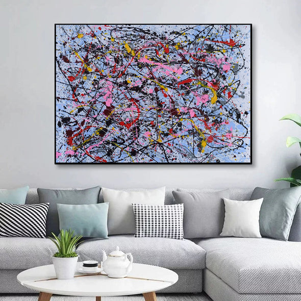 Abstract butterfly painting | Beautiful abstract painting LA70_3