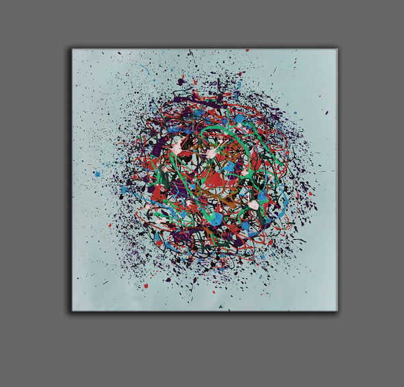 Contemporary abstract painting | Abstract painting images LA203_4