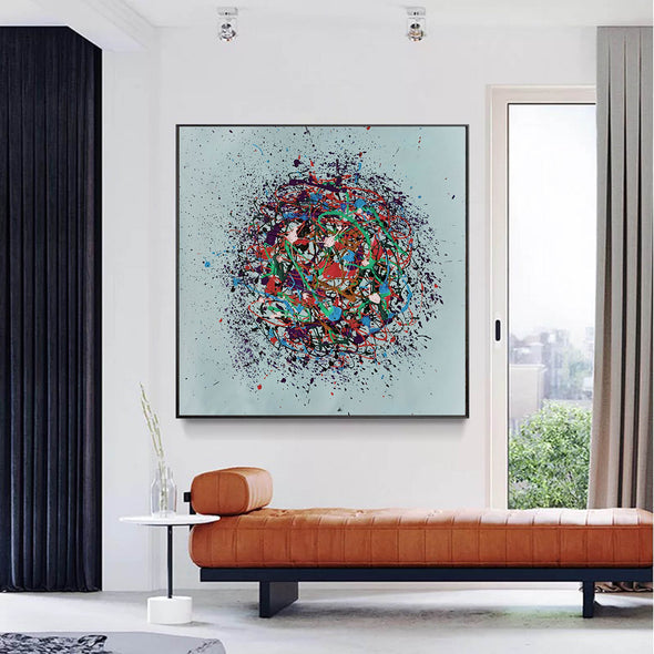 Contemporary abstract painting | Abstract painting images LA203_1