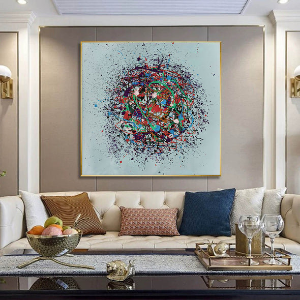 Contemporary abstract painting | Abstract painting images LA203_2