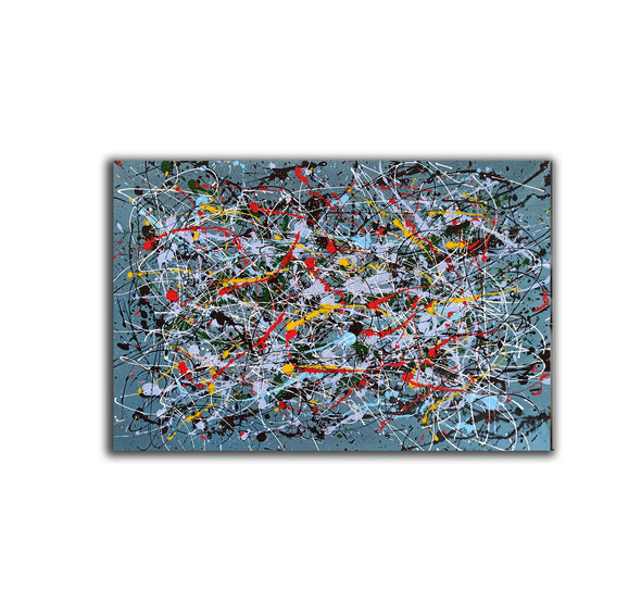 Contemporary abstract painting | Abstract impressionism artists LA38_7