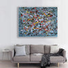 Contemporary abstract painting | Abstract impressionism artists LA38_9