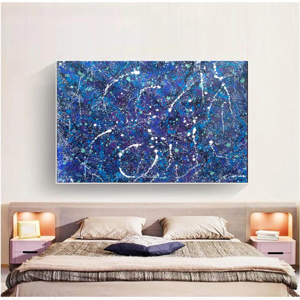 Contemporary abstract paintings | Oil abstract art LA240_2
