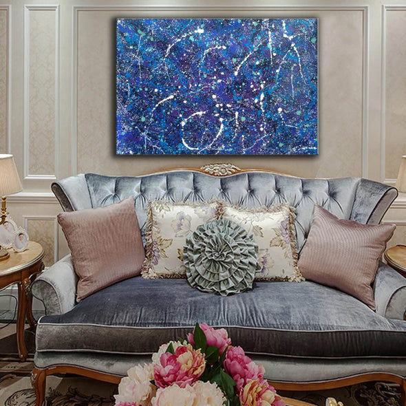 Contemporary abstract paintings | Oil abstract art LA240_5