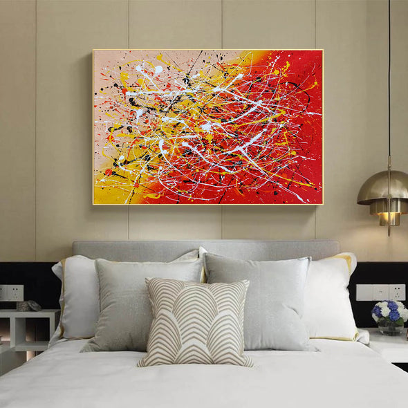 Contemporary art abstract paintings | Paint abstract oil paintings LA263_2
