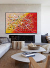Contemporary art abstract paintings | Paint abstract oil paintings LA263_4