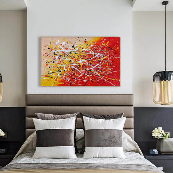 Contemporary art abstract paintings | Paint abstract oil paintings LA263_5