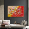 Contemporary art abstract paintings | Paint abstract oil paintings LA263_7
