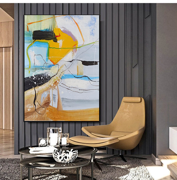 Contemporary art painting | Contemporary abstract painting LA159_2