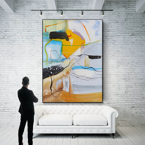 Contemporary art painting | Contemporary abstract painting LA159_3