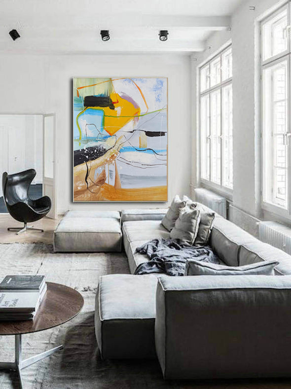 Contemporary art painting | Contemporary abstract painting LA159_5