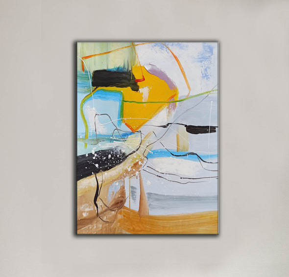 Contemporary art painting | Contemporary abstract painting LA159_9