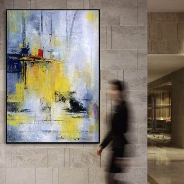 Abstract painting images | Contemporary art paintings LA53_1