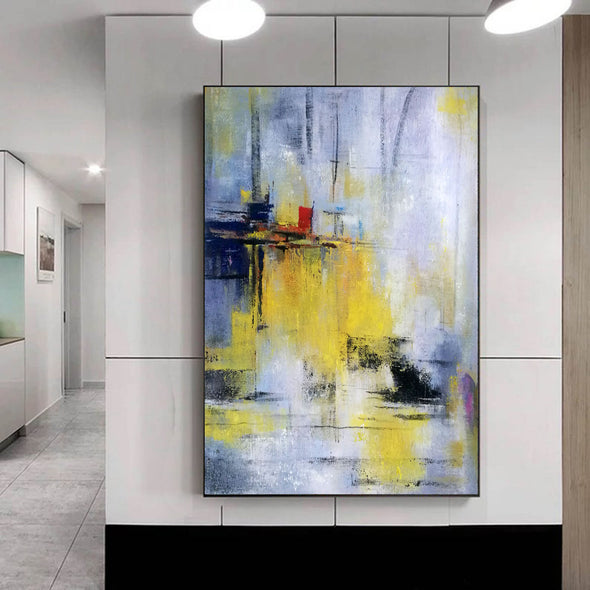 Abstract painting images | Contemporary art paintings LA53_4