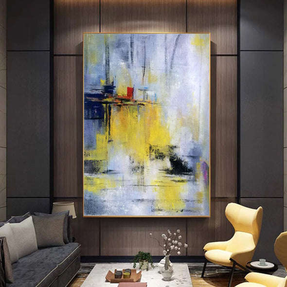 Abstract painting images | Contemporary art paintings LA53_5