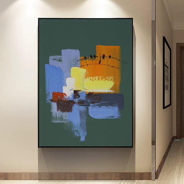 Abstract painting images | Contemporary art paintings LA111_1
