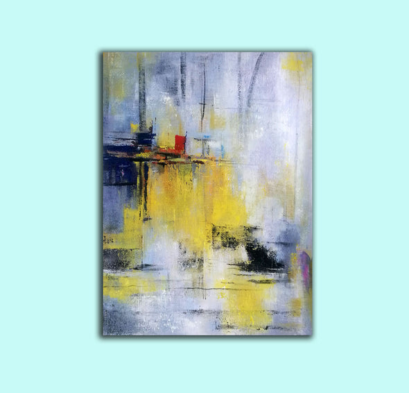 Abstract painting images | Contemporary art paintings LA53_7