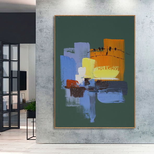 Abstract painting images | Contemporary art paintings LA111_7
