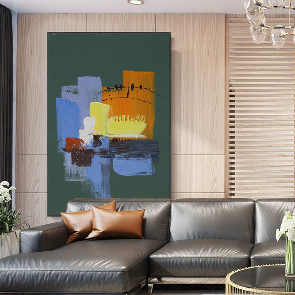 Abstract painting images | Contemporary art paintings LA111_2
