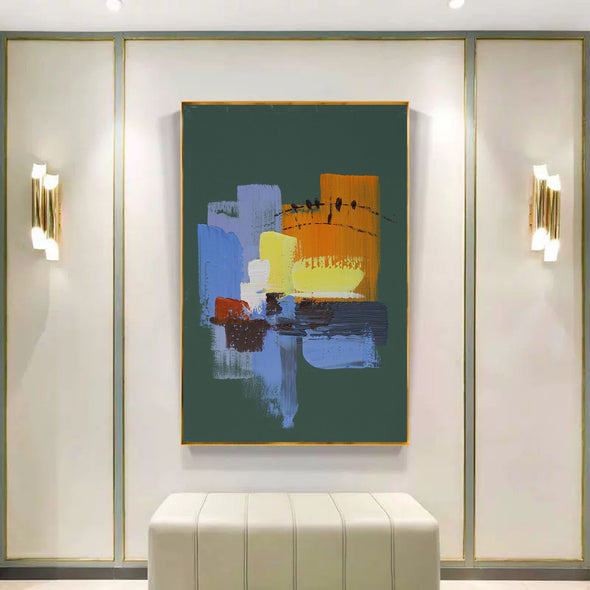 Abstract painting images | Contemporary art paintings LA111_8