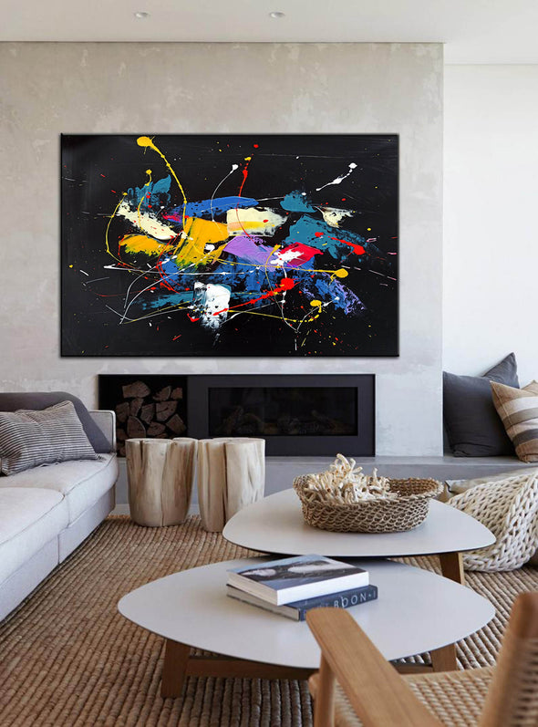 Contemporary art paintings abstract | Abstract art paintings images LA267_5