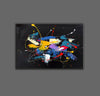 Contemporary art paintings abstract | Abstract art paintings images LA267_8