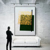 Contemporary canvas painting | Colorful abstract paintings on canvas LA140_3