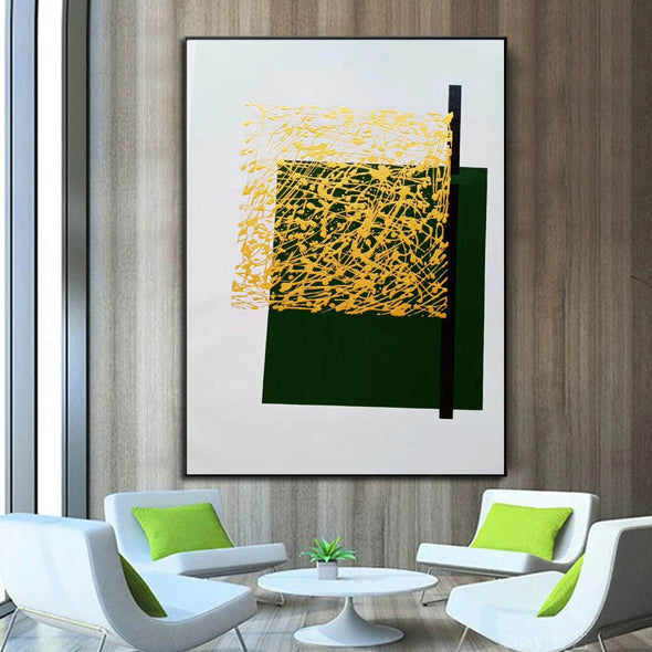 Contemporary canvas painting | Colorful abstract paintings on canvas LA140_5