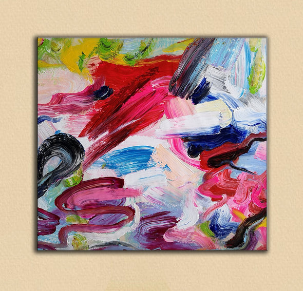 Abstract paintings with acrylic | Abstract picture art-8