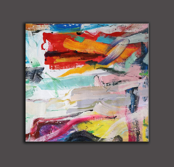 Easy abstract oil paintings | Most abstract art L659-7